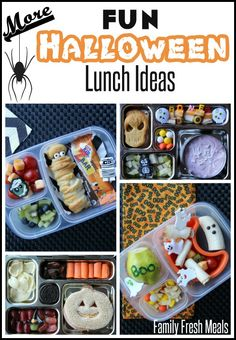 Fun Halloween Lunchbox Ideas for Kids __ FamilyFreshMeals.com