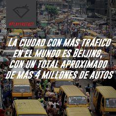 #PLAYERSFact #Sabíasque #Tráfico #DatoCurioso
