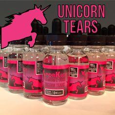 (Top Seller) Unicorn Tears E-Juice 30ml's #vapestyle #verdampfer #vapecommunity #liquid #dampfer #dampf #vapeon #vapememe #dampft