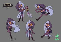 """Concept art for a 2D animation project called """"Captain Constantino"""""""
