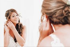 Pearl Earrings, Florida, Pearls, Wedding, Fashion, Valentines Day Weddings, Moda, Pearl Studs, La Mode