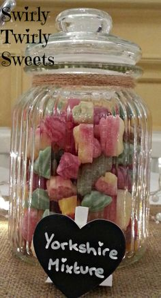 Maxons Yorkshire Mixture in one of our decorative jars