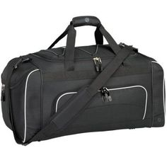 Protege 24 inch Duffel with Wet Shoe Pocket, Black