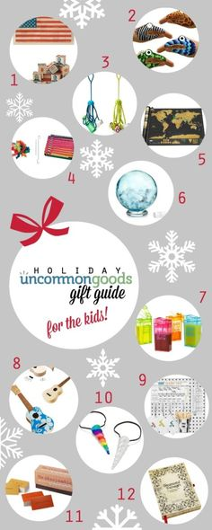 Uncommon Goods Holiday Gift Guide + Giveaway {simplyhappenstance.com} gift ideas and #giveaway #uncommongoods