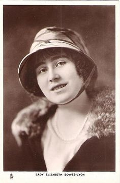 Lady Elizabeth Bowes-Lyon, later Queen Elizabeth |