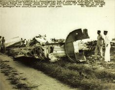 August 15, 1959 - American Airlines Flight 514 (Flagship Connecticut), a Boeing 707 was on a training flight ending at Grumman Peconic River Airport, Calverton, NY now known as Calverton Executive Airpark, when during descent the aircraft began a barrel roll to the right, yawed and crashed in flames after the pilots shut off the engines to simulate a flameout. All 5 crew on board were killed. The cause of the crash was determined to be the failure of the crew to recognize the yaw.