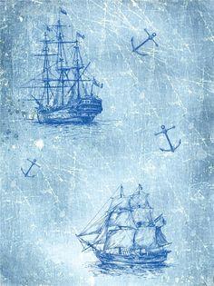 Картинки для декупажа. Морская тема. Обсуждение на LiveInternet - Российский Сервис Онлайн-Дневников