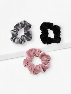 Shop Plain Scrunchie at ROMWE, discover more fashion styles online. Scrunchies, Accesorios Casual, Modelos Fashion, Mermaid Makeup, Tie Colors, Cool Names, Hat Hairstyles, Hair Ties, Romwe