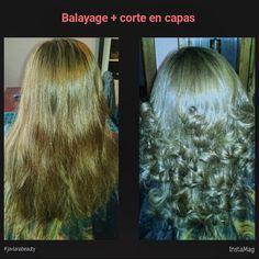 Balayage hairinspiration cabellosano javianabeauty balayage hairstyle hairstylist hairbalayage