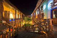 Hotel El Pueblito Holbox Island Featuring free WiFi and a terrace, Hotel El Pueblito offers pet-friendly accommodation in Holbox Island.  Some units feature a seating area for your convenience. A terrace or balcony are featured in certain rooms. All rooms have a private bathroom.