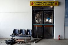 Athens Ellinikon International Airport (closed since 2001)