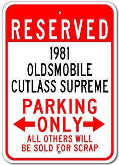81 cutlass fuse box chevy monte carlo ss 81 cutlass pinterest 1981 81 oldsmobile cutlass supreme parking sign publicscrutiny Images