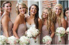 Dusty rose bridesmaids dresses - My wedding ideas