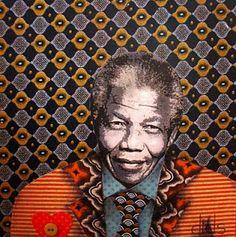 Mandela collage, dids world: June 2010 African American Art, African Art, African Style, High School Art Projects, Nelson Mandela, Mandela Art, Art Premier, Georges Braque, African Textiles