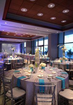 Puerto Rico Wedding Reception in Salon Indigo @ Hotel La Concha
