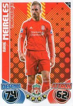 2010-11 Topps Premier League Match Attax #172 Raul Meireles Front