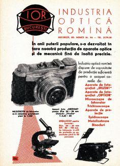 Reclamă românească anii 1958-1959