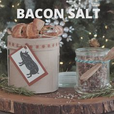 How to Make Bacon Salt - The Perfect Stocking Stuffer!