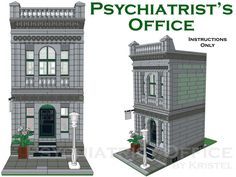 Psychiatrist's Office (Modular Building) - Custom Step-by-Step Instructions Only #Instructions
