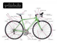Anatomy of a Road Bike