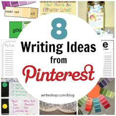 8 Writing Ideas from Pinterest