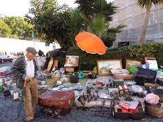 A trip to Lisbon - a little bit of everything Flea Markets, Lisbon, Everything, Sunshine, Table Settings, Gloves, Rain, Table Decorations, Blog
