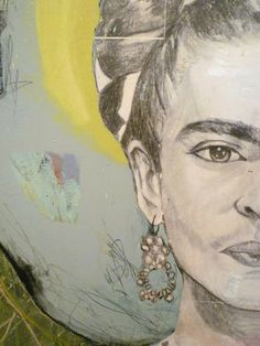 """""""pies, para que los quiero si tengo alas pa' volar"""" """"feet, what do i need them for when i have wings to fly"""" -frida kahlo rita maria gallery: """"gesso"""""""