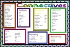 Free Literacy Resource - Connective Words Mat
