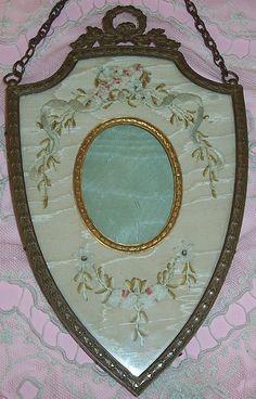 Antique FRENCH Gilt Bronze Ormolu Wreath Crown.