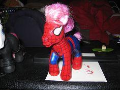 My Little Spider Pony@Amanda Nail....omg I thought of Harley's shirt!