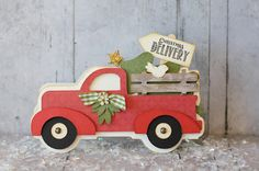 This and That: Christmas Delivery Truck Card