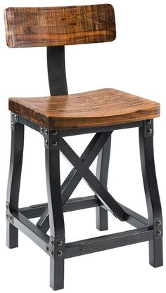 Inkivy INK+IVY Lancaster Industrial Counter Stool