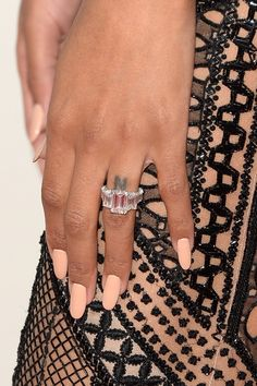 Singer Ciara (fashion detail) attends the 2013 American Music Awards at Nokia Theatre L.A. Live on November 24, 2013 in Los Angeles, California.
