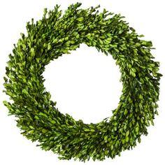 "target.com: Smith & Hawken® Boxwood Wreath - 21.25"" (Online Item #: 14702386 Store Item Number (DPCI): 065-01-0767) $44.99"