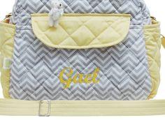 Ideal para levar para a maternidade, cabe tudo o que você precisa para os primeiros dias do seu bebê. Logo que puder viajar, essa bolsa será essencial para levar tudo que você precisa para a comodidade do bebê.      Tecidos 100% algodão  Matelassada com camadas de manta acrílica que deixa a bolsa...
