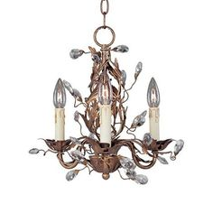 Maxim Lighting 2855OI 3 Light Elegante Chandelier -- Locate the offer simply by clicking the VISIT button