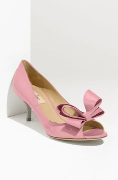Valentino - Pink Couture Bow Pump