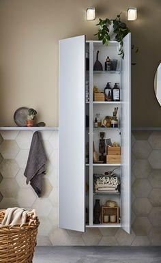 Här badrumserien Simple från Ballingslöv. Smart badrums förvaring skall  vara snygg 029e88bdae200