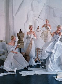 Twelve Dancing Princesses [The One And Only by Tim Walker for Vogue May 2014]