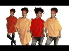 Tuto Couture | DIY Top/Robe Facile avec Tissu de Toison - YouTube