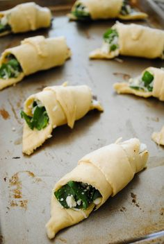 crescent Spinach wraps