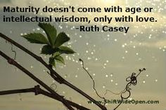 Ruth Casey maturity