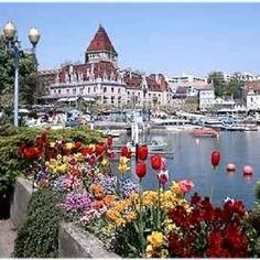 Chateau D'Ouchy Lausanne Switzerland This is where we stayed.. so fabulous!