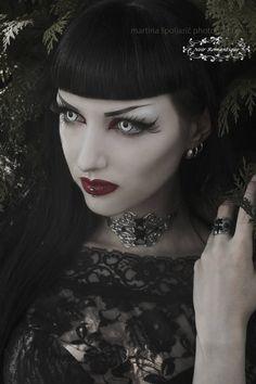 Silver Corset Choker-Gothic choker-Corset lacing by NoirRomantique