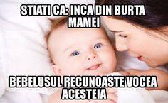 Inainte sa se nasca, copilul percepe zgomotele din exterior smile emoticon  www.mogonel.ro  #stiatica #bebelus #mama