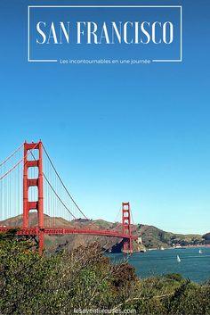 Le célèbre pont Golden Gate Bridge de San Francisco - Un incontournable si vous êtes à San Francisco, Californie