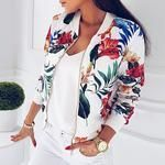 Cheap Basic Jackets, Buy Directly from China Suppliers:Women Coat Fashion Ladies Retro Floral Zipper Up Bomber Jacket Casual Coat Autumn Outwear Women Clothes Floral Bomber Jacket, Lace Jacket, Jacket Style, Print Jacket, Suede Jacket, Jacket Dress, Coats For Women, Jackets For Women, Clothes For Women