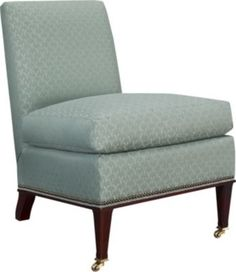 Madeleine Slipper Chair from the Suzanne Kasler® collection by Hickory Chair Furniture Co.