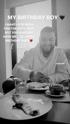 Happy Birthday Captions, Birthday Quotes Funny For Him, Happy Birthday Best Friend Quotes, Birthday Wishes For Boyfriend, Happy Birthday Baby, Daddy Birthday, Girlfriend Birthday, Birthday Cards, Birthday Gifts