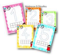 Petite Section, Jouer, Blog, Voici, School, Alphabet, Montessori Math, Happy Mom, Modeling Paste